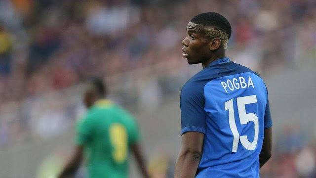 Paul Pogba out from the France squad, after tests corona positive.