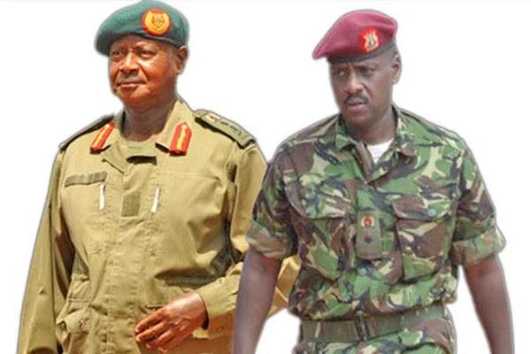 Rais Museveni ampandisha cheo tena mwanaye Jeshini