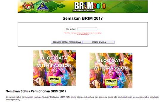 Laman web palsu Bantuan Rakyat 1Malaysia 2016