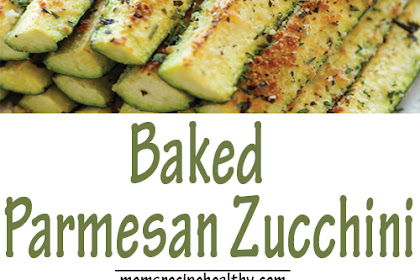 Delicious Baked Parmesan Zucchini Recipes {+video}