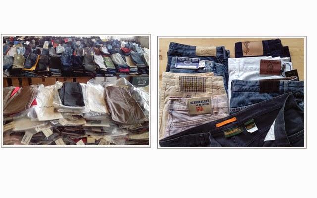 Stocklot Italian Jeans Branded 17000 pcs | Wholesale Stock firmato