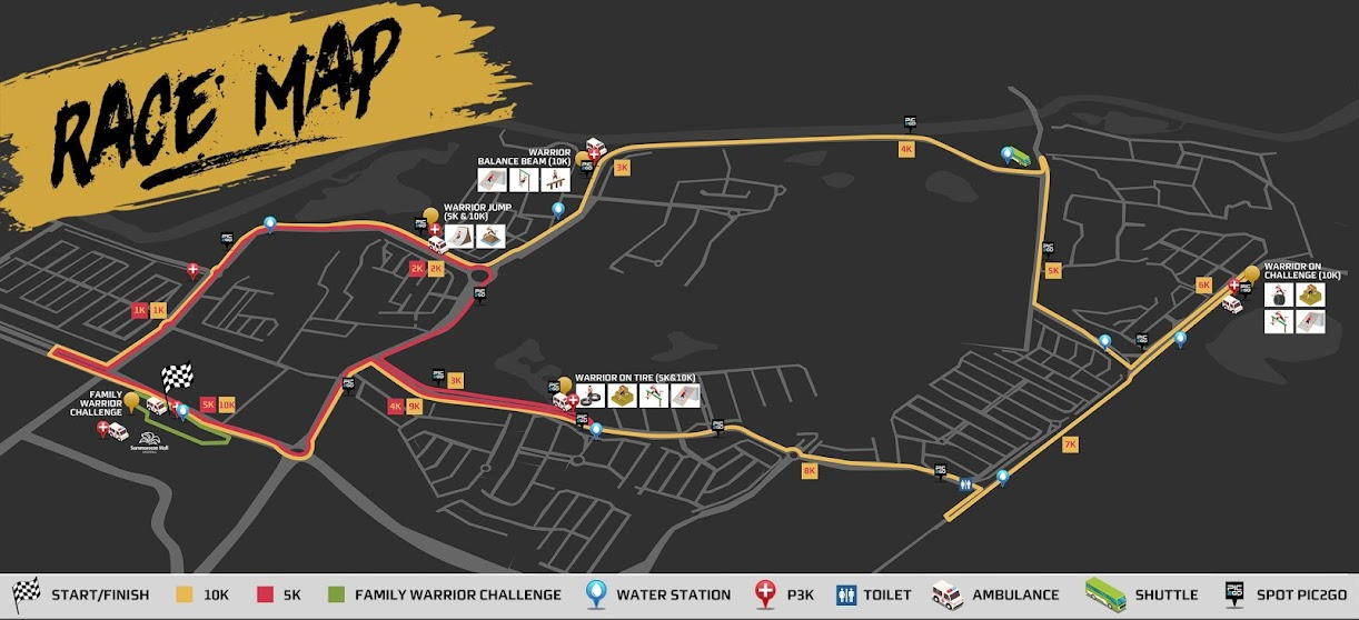 Serpong Green Warrior Run • 2019