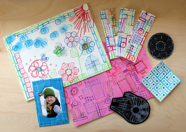 Filth Wizardry: Stamping with Lego and craft foam