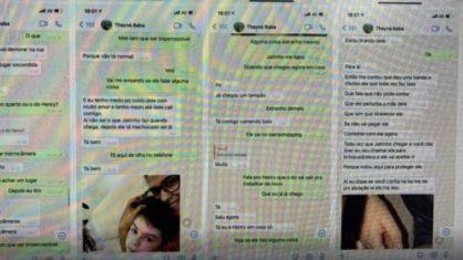 Por mensagens, babá narrou em tempo real à mãe de Henry tortura do menino por Dr. Jairinho: 'Deu uma banda e chutou ele'
