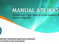 Manual Aplikasi Pendaftaran Calon Peserta UN Tahun 2018 Berbasis Dapodik