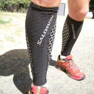 - Black//Red 1 Pair Size 3 SALOMON Unisex Exo Calf Salomon Exo Calf Leg Sleeves