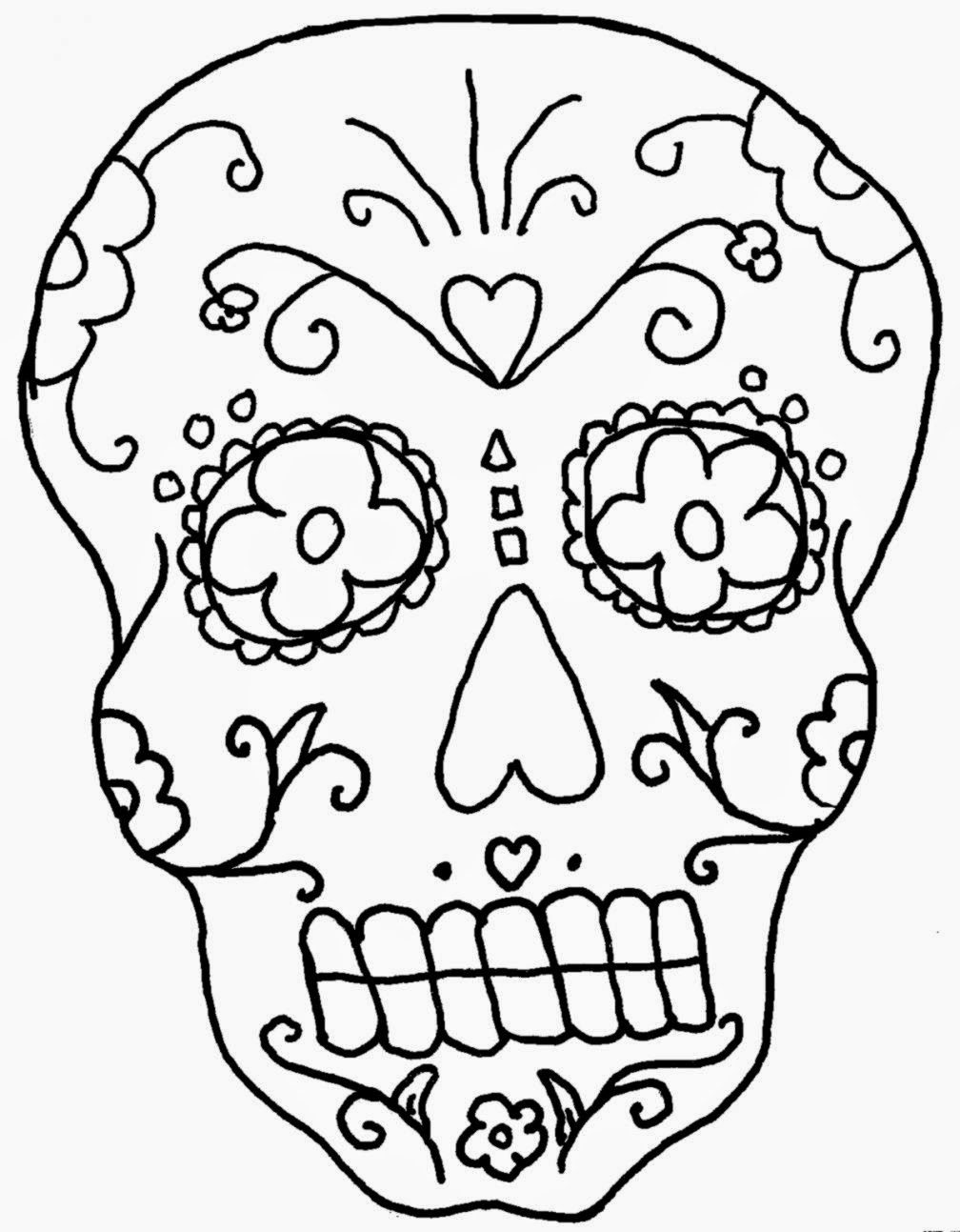 Free Worksheet Dia De Los Muertos Worksheets day of the dead coloring pages for skulls tissue box dead