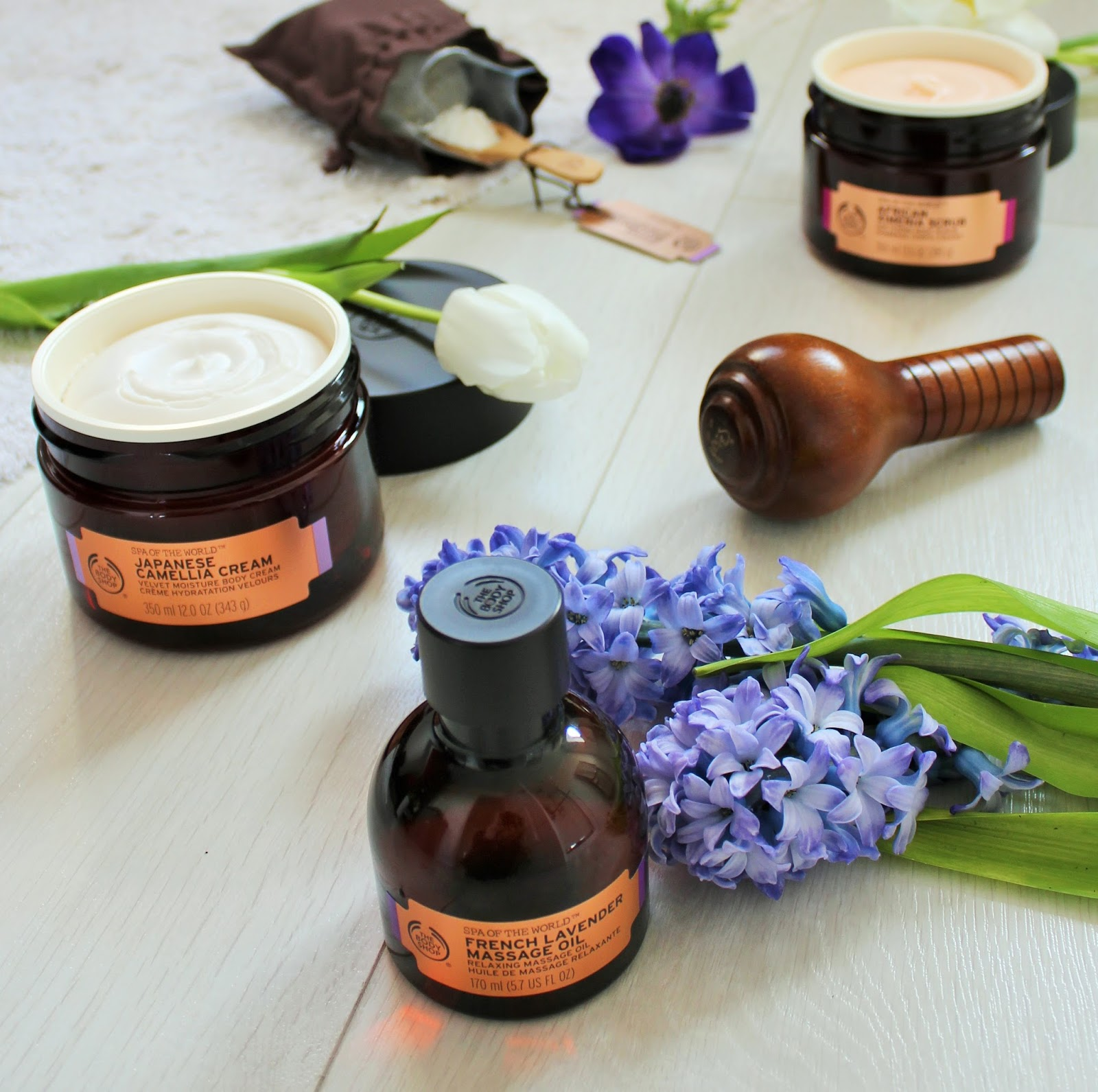 The Body Shop Spa of the World Range - 1