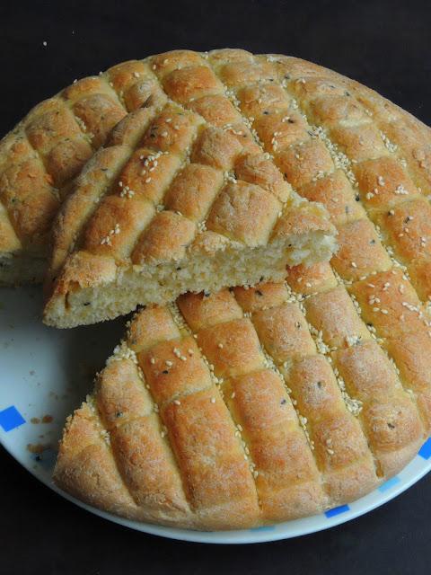 Moroccan Decorated Bread