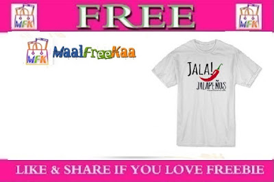 """FREE """"Jala! Jalapenos"""" T-Shirt"""