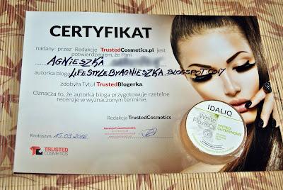 Certyfikat Trusted Blogerki