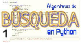 Algoritmos de búsqueda con Python - Parte I