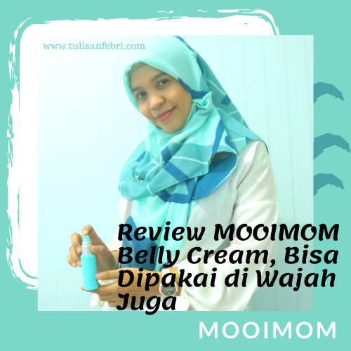 Review MOOIMOM Belly Cream