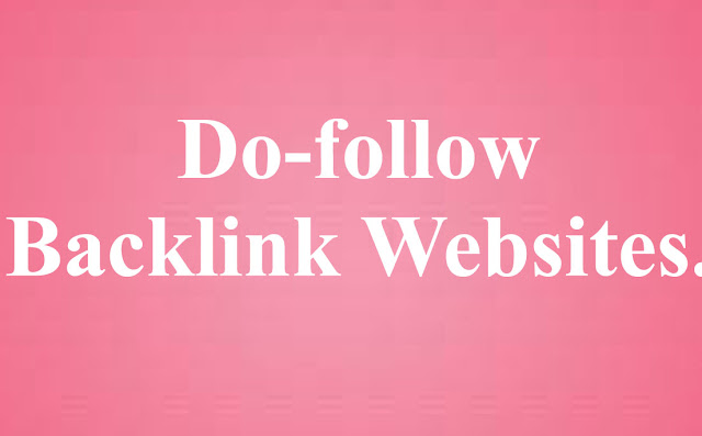 Do follow backlinks sites list  Do follow backlinks Sites List 2019    Do follow profile backlinks  Does follow bookmarking site list  do follow backl