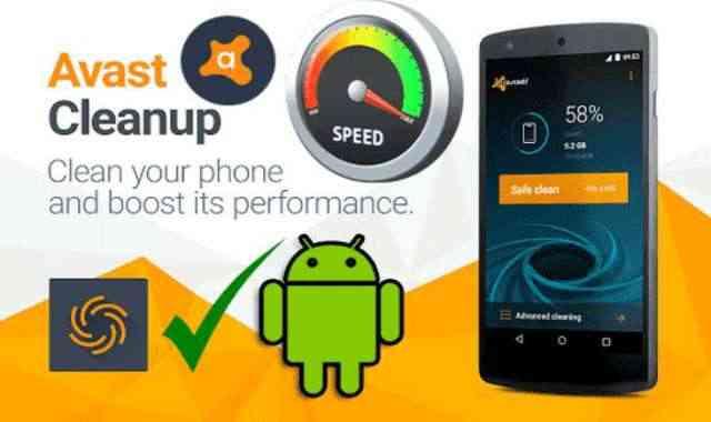 تحميل تطبيق Avast Cleanup Pro APK عملاق تنظيف وتسريع وتحسين اداء هاتفك الأندرويد