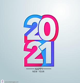 تهنئة راس السنة الميلادية 2021