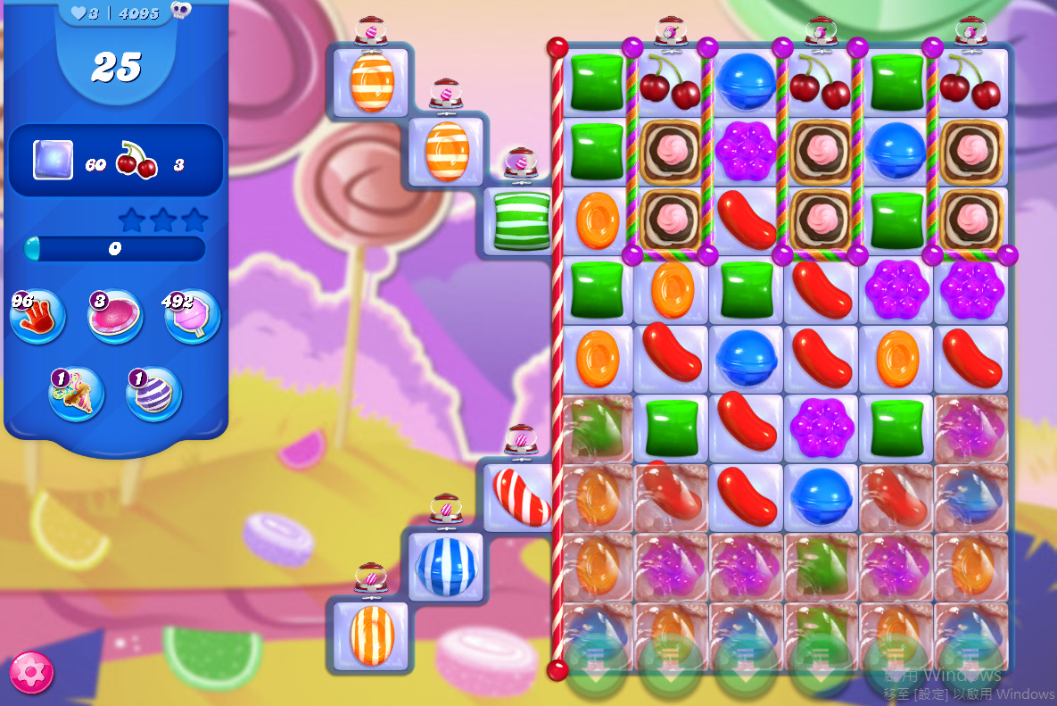 Candy Crush Saga level 4095