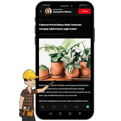 menu inspiration di IDN app tanaman
