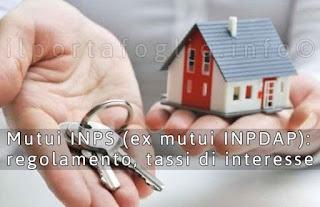 regolamento mutui inps