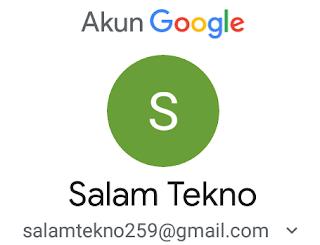 cara mengganti nama alamat email