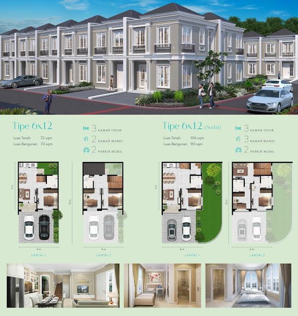 Alton House 6 x 12