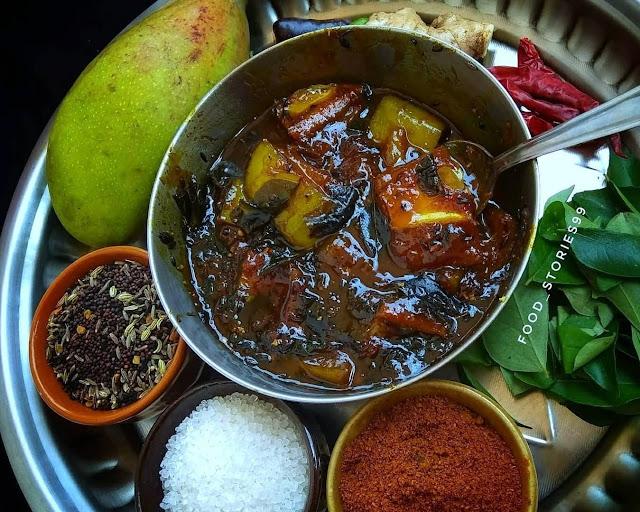 Kancha Amba Khata - Raw Mango Pickle