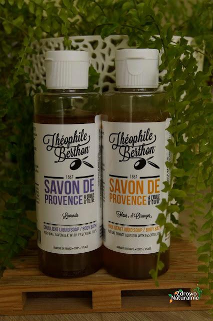 Theophile Berthon: Mini mydła prowansalskie - pomarańcza i lawenda