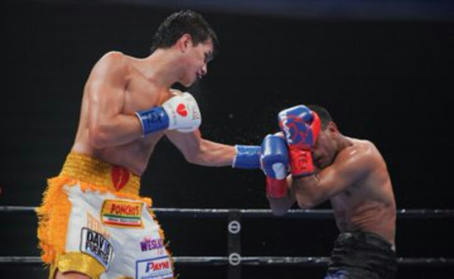 Brandon Figueroa Stops Javier Chacon
