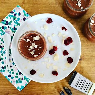 image Mousse au chocolat vegan sans oeuf mais avec du ...jus de pois chiche