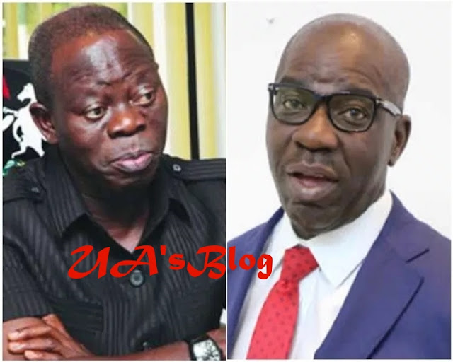 War Start: Gov. Obaseki And Oshiomhole At Loggerheads Over Choice Of Running Mate Ahead Of Gubernatorial Elections