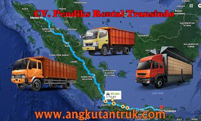 Truk Ekspedisi Surabaya Sumatera