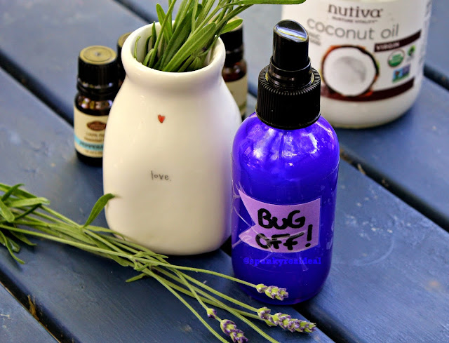 "The Best ""Bug Off"" Spray #DIY"