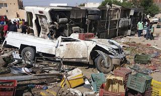 """إصابة 62 شخصا.. ومصرع 7 فى حادث انقلاب سيارات """"اضغط للتفاصيل"""""""