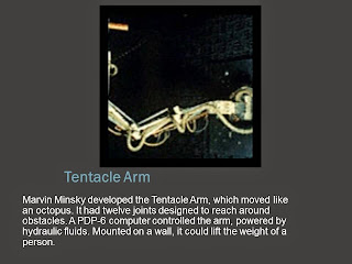 TENTACLE ARM DEVELOPED BY MARVIN MINSKY