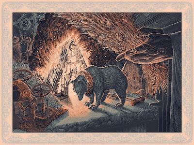 """It Corrupts The Soul"" Screen Print by Calvin Laituri x Bottleneck Gallery"