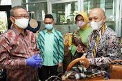 Gubernur Kalbar dampingi Menkop UKM kunjungi UMKM Center dan Dekranasda Kota Pontianak
