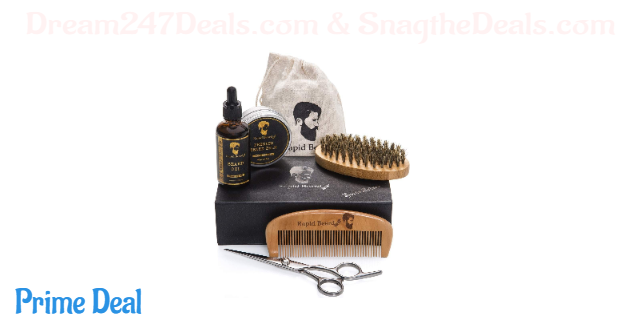 30% OFF Beard Grooming & Trimming Kit for Men Care
