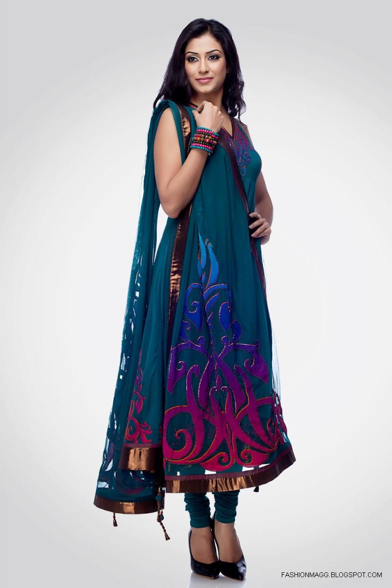 Anarkali Umbrella Frocks: Anarkali Umbrella Frocks-Anarkali Fancy Long Shirt Style