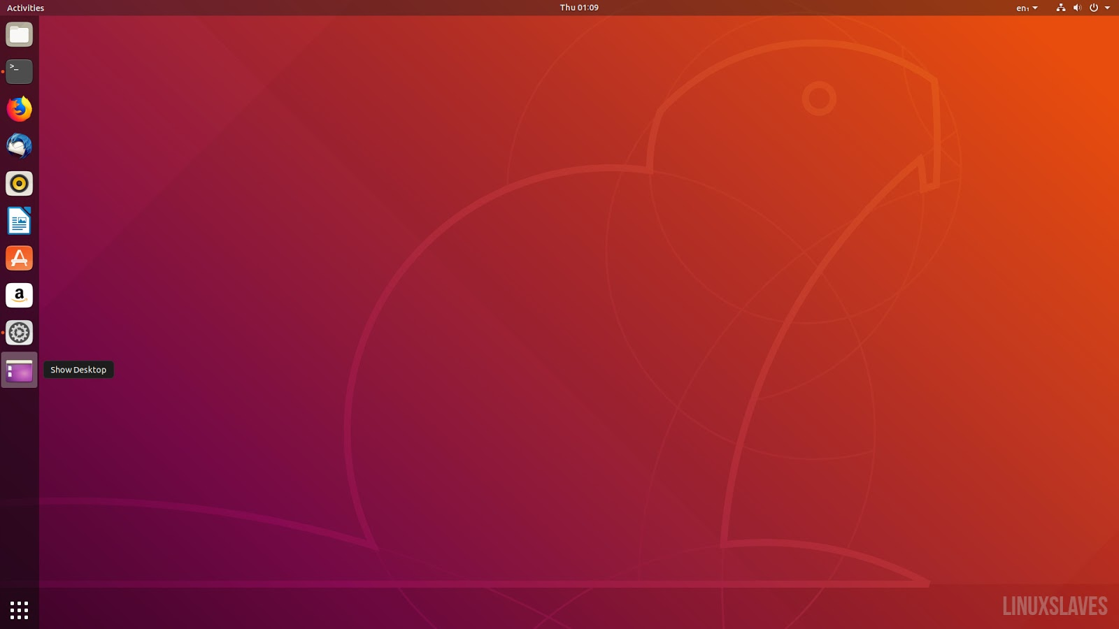 How to Add Show Desktop Button in Ubuntu 18 04 and 18 10