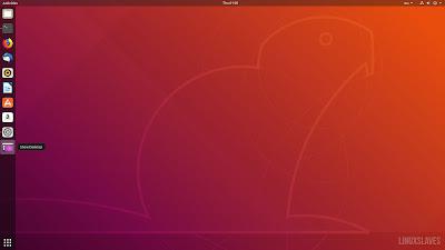 Show Desktop Ubuntu 18