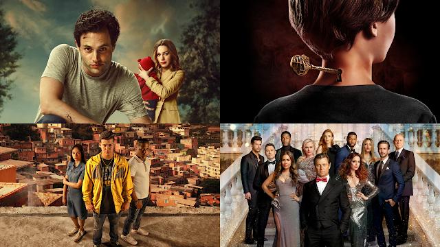 Netflix anuncia 28 séries que chegam em outubro