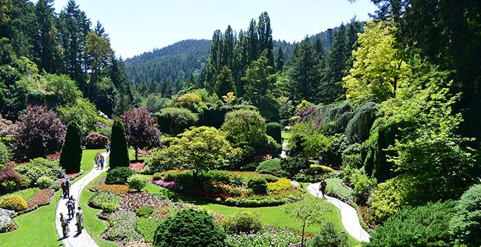 Jardines en Victoria