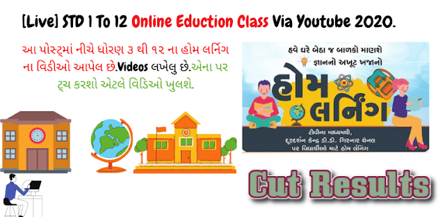 17/04/2021 Home Learning Video on You Tube, Diksha and Pdf