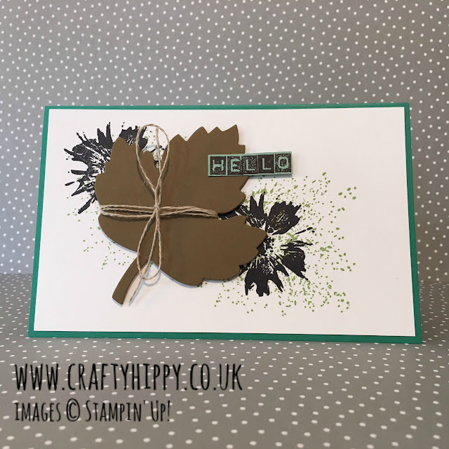 Touches of Texture card, Stampin' Up!