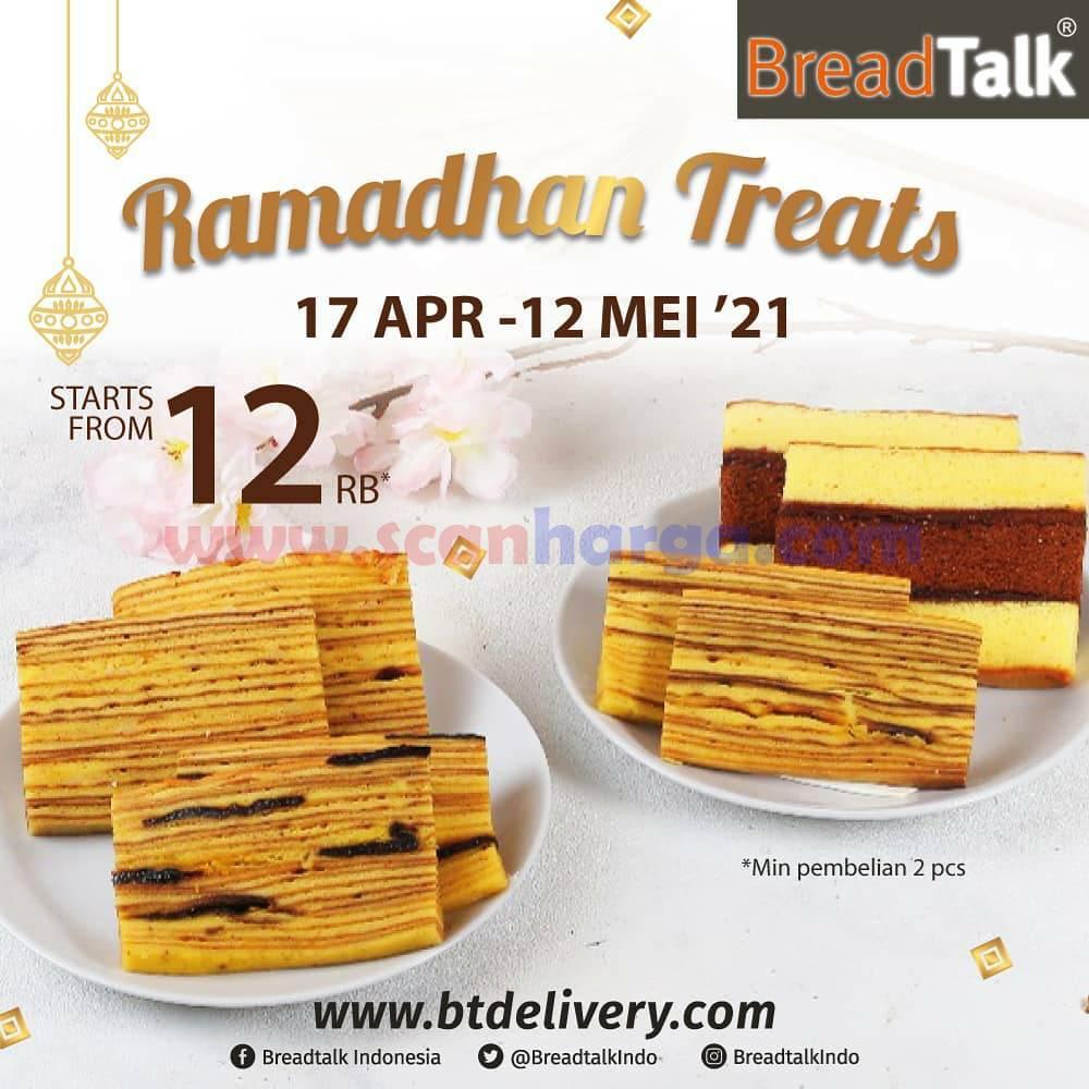 BreadTalk Promo Ramadhan Treats - harga mulai Rp 12.000