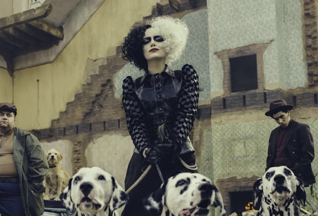 Cruella | Primeira imagem de Emma Stone como Cruella De Vil