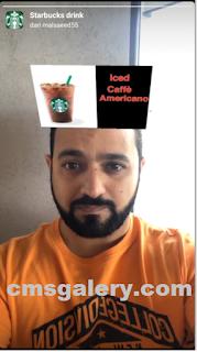 Starbucks filter instagram || Cara Dapatkan Starbucks Drink Filter instagram