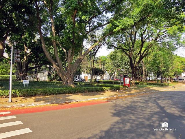 Vista de parte da Praça das Guianas - Jardim Paulista - São Paulo