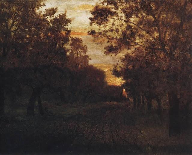 Исаак Ильич Левитан - Дорога в лесу. 1881