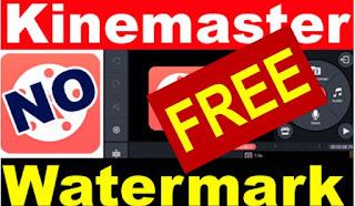 kinemaster free no watermark gratis